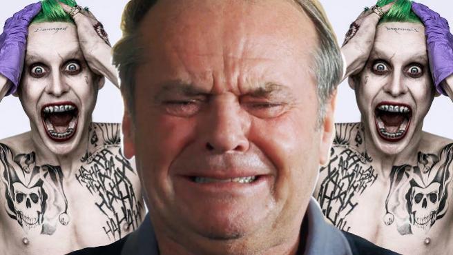 Vídeo del día: Jack Nicholson reacciona ante el Joker de Jared Leto