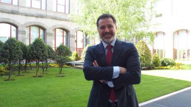 Jacobo Moreira, candidato del PP a la Alcaldía de Pontevedra