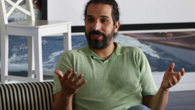 El director de cine Javier Ruiz Caldera