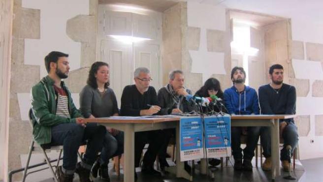 Movilizaciones contra la reválida de la Plataforma Galega do Ensino Público