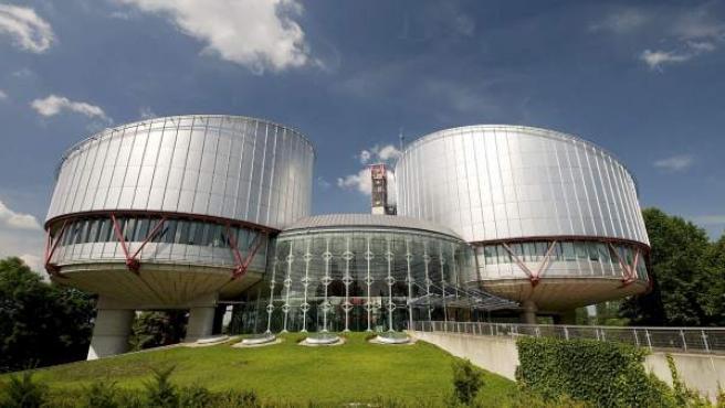 Fachada de la sede del Tribunal Europeo de Derechos Humanos (TEDH), con sede en Estrasburgo (Francia).