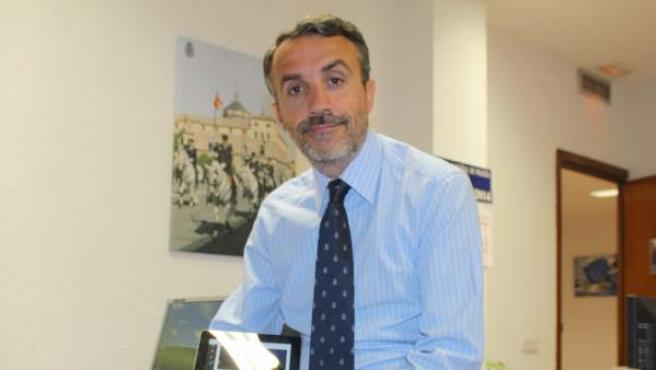 Carlos Fernández Guerra, el responsable de redes sociales de Policía Nacional