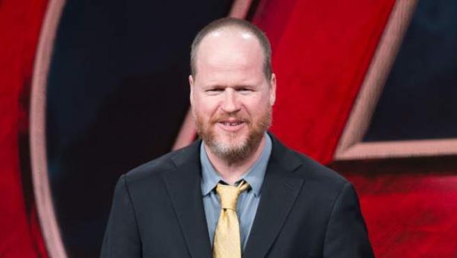El director Joss Whedon durante la presentación 'Vengadores: La Era de Ultrón' en Beijing, China.