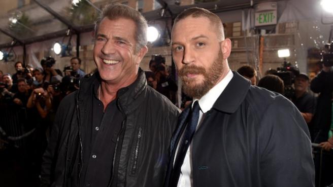 Foto del día: Mel Gibson y Tom Hardy, choque de Mad Max