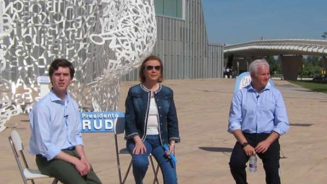 Celma, Rudi y ELoy en el alma del Ebro con NN.GG