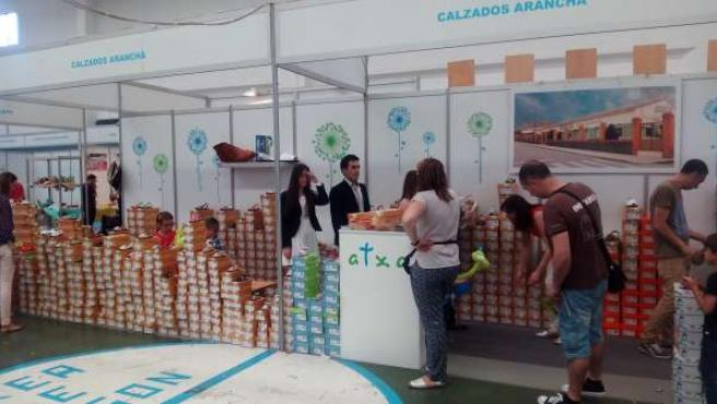 Unas 10.000 personas visitan la Feria Expo Calzado.