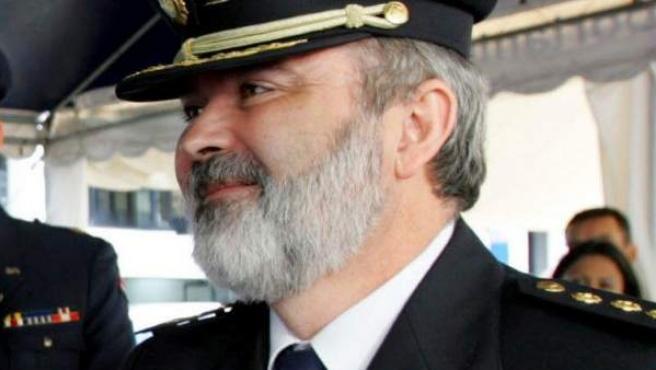 Foto de archivo del 1 de diciembre de 2004 del comisario de Policía Jesús Figón.