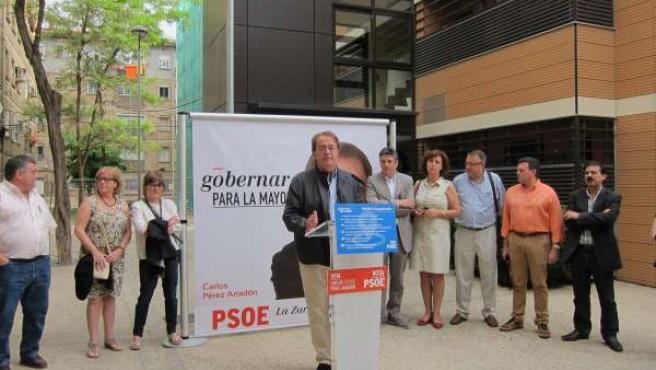Pérez Anadón ha presentado sus propuestas sobre vivienda en Las Fuentes