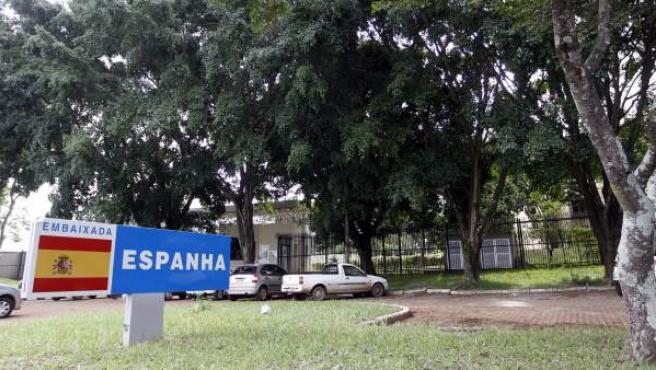 Fotografía de la embajada española en Brasil.