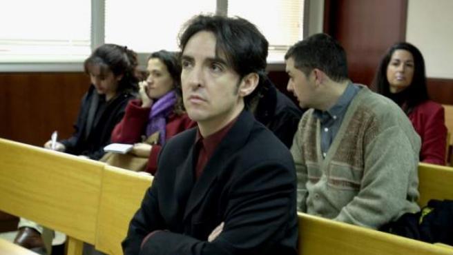 El cantante y exconsejero de la SGAE, Ramoncín, en un juicio.