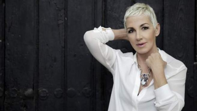 Ana Torroja, en una foto promocional con motivo del lanzamiento de su álbum 'Conexión'.