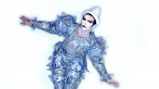 Foto de Brian Duffy para el disco 'Scary Monsters' de David Bowie
