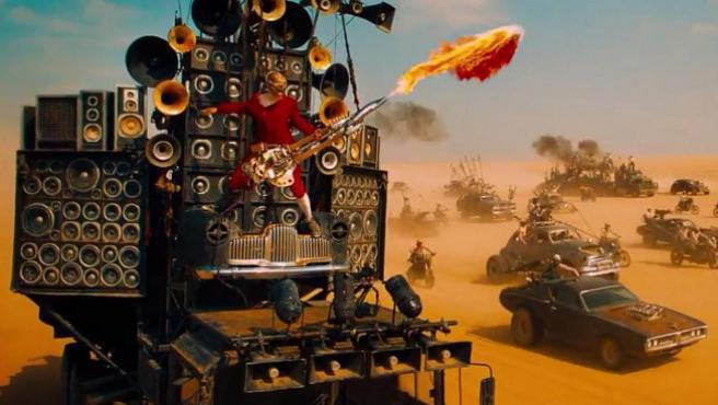 ¿Quién es el guitarrista de 'Mad Max: Furia en la carretera'?
