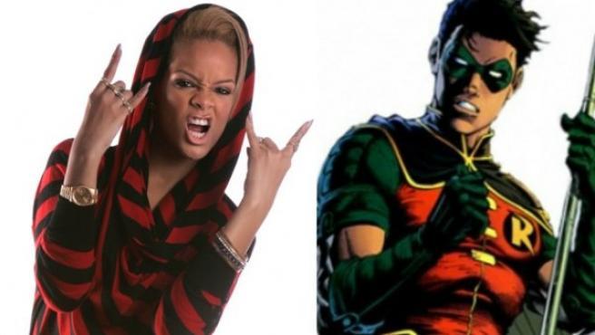Robin y Robyn Rihanna Fenty.