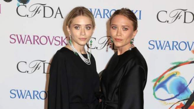 Las hermanas Olsen, Mary-Kate y Ashley, en una imagen de 2014.