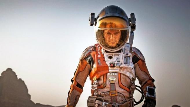 Matt Damon en 'The Martian'.