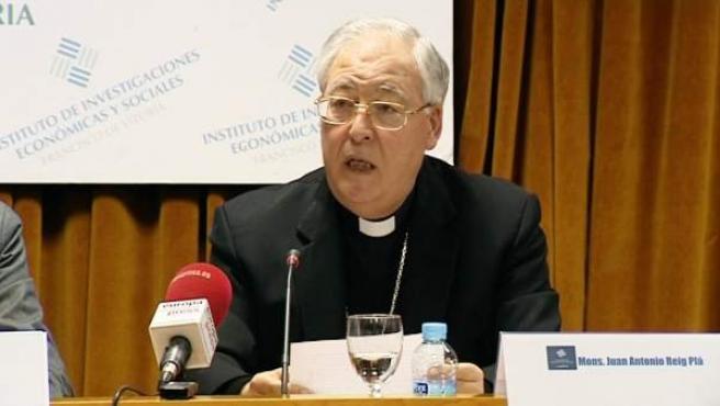 El obispo de Alcalá de Henares Juan Antonio Reig Plà.