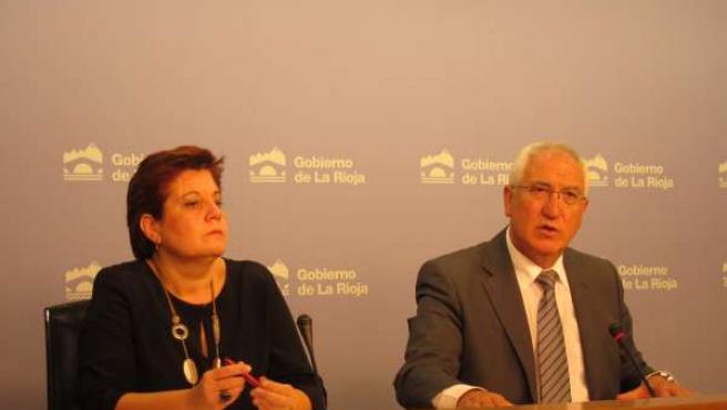 Almudena Martínez y Abel Bayo