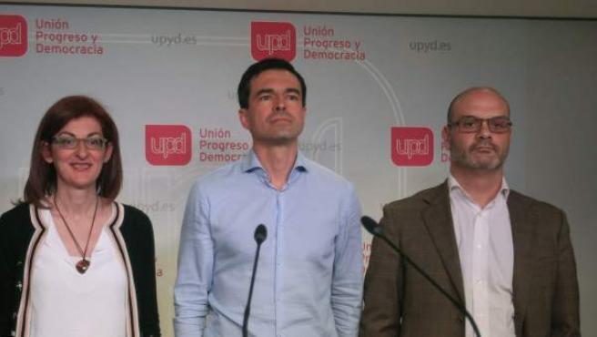 La dirección de UPyD en Madrid.