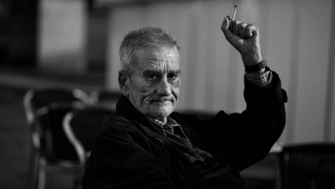 El poeta Leopoldo María Panero, retratado en 2011 por José Ramón Vega