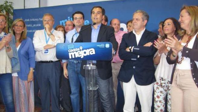José Antonio Nieto con su candidatura