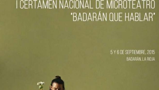 Cartel Microrelato Badarán