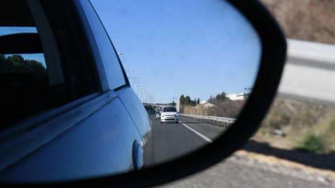 Carretera, Retrovisor, Autovía, Coches, Tráfico, Dgt