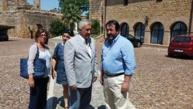 Javier Arenas, este domingo en Carmona (Sevilla)