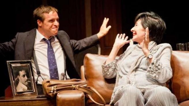 Escena de la obra de teatro Olivia y Eugenio