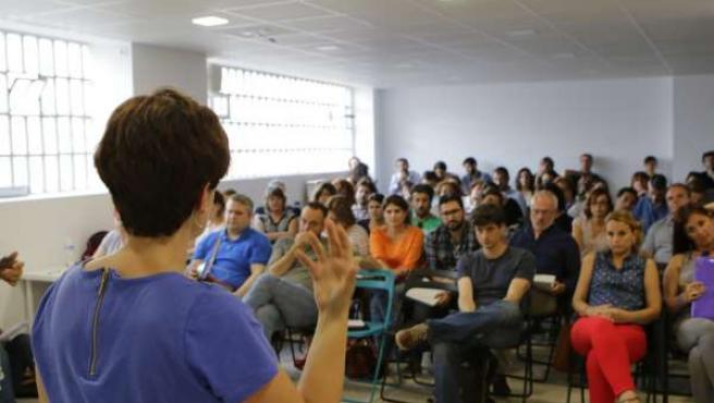 Jornada para formar a diputados de Podemos