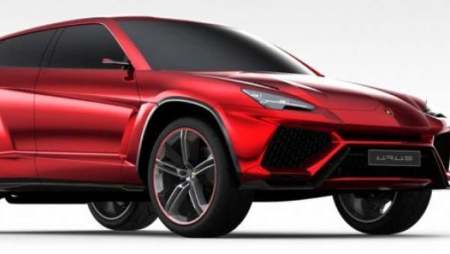 El Lamborghini Urus de 2012 será la base del nuevo todocamino