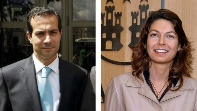 Fotografías de archivo de los consejeros de la Comunidad de Madrid Salvador Victoria y Lucía Figar.