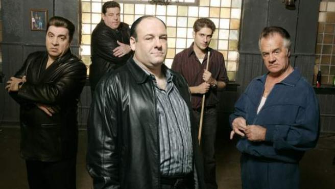 Algunos de los personajes de 'Los Soprano', la serie que marcó un antes y un después en la ficción televisiva.