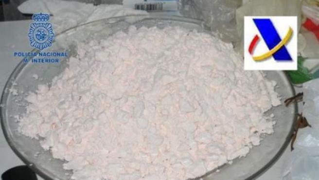 Cocaína incautada por la Policía Nacional en la operación