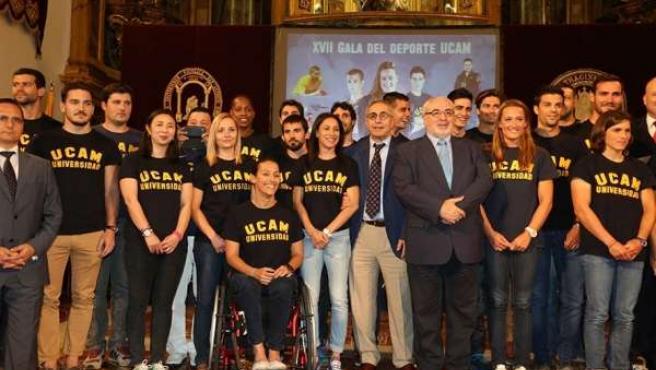 Teresa Perales, Mireia Belmonte premiados por la UCAM