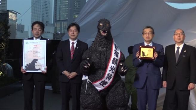 Godzilla ya es ciudadano de Japón