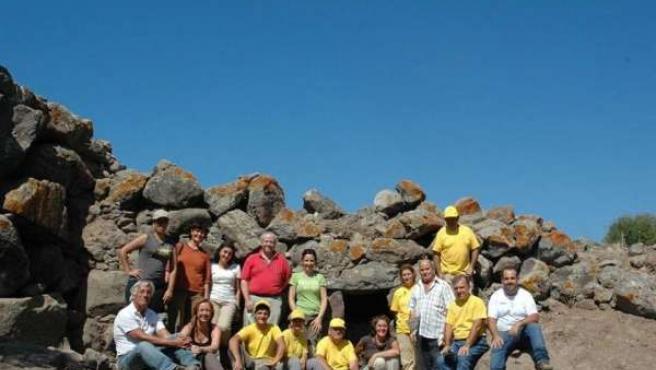 El equipo protagonista de la excavación de 2014.