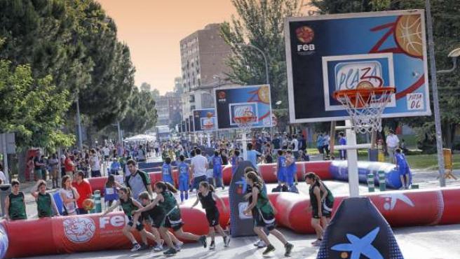 Plaza 3x3 en Badajoz