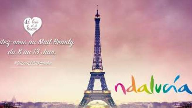 Acción promocional de Andalucía en París