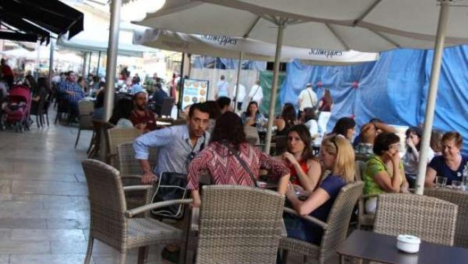 Terraza, bar, hostelería, terrazas