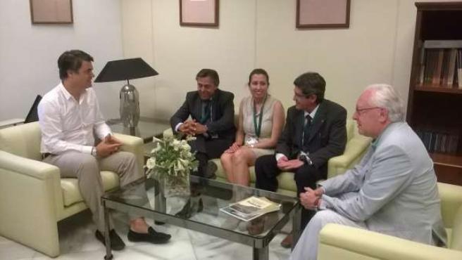 Reunión del PP con Ceacop