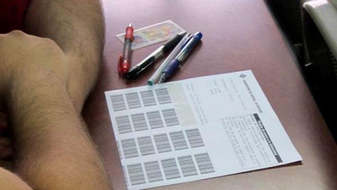 Selectividad, PAEG, Examen, Prueba, Alumnos, Estudiantes