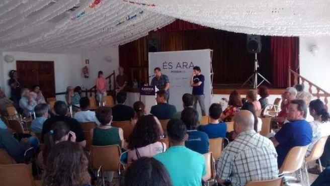 Asamblea de Podem en Sineu