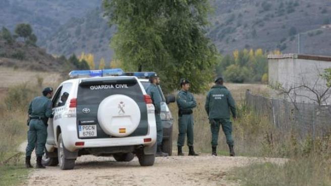Agentes de la Guardia Civil en una imagen de archivo.