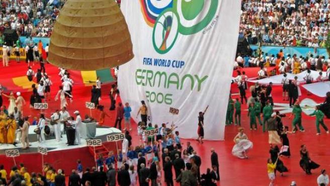 Imagen de la gala inaugural del Mundial de Alemania 2006, celebrada en Múnich el 9 de junio de ese año.