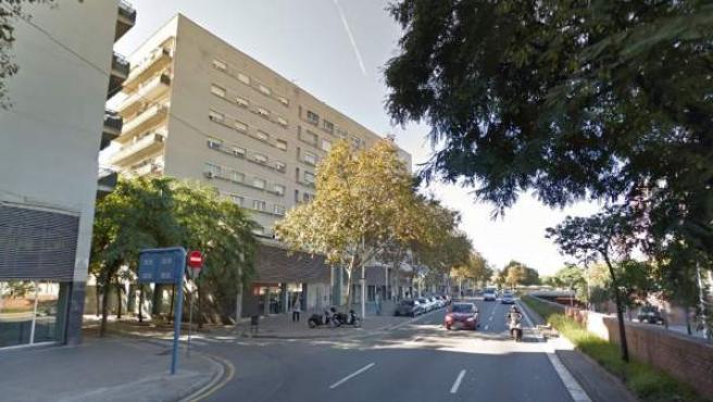 Imagen de la calle Dr. Aiguader de Barcelona, donde ha tenido lugar el suceso.