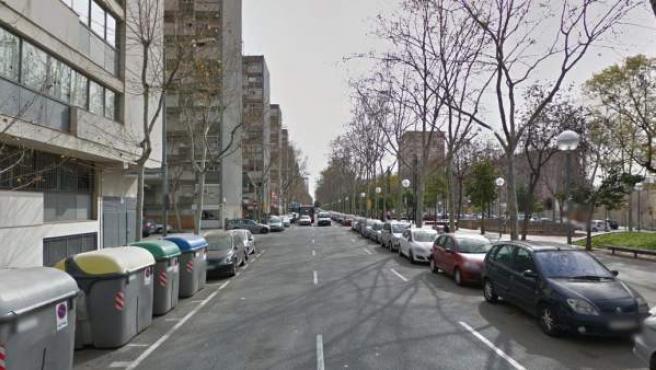 Imagen de la Rambla Prim de Barcelona.