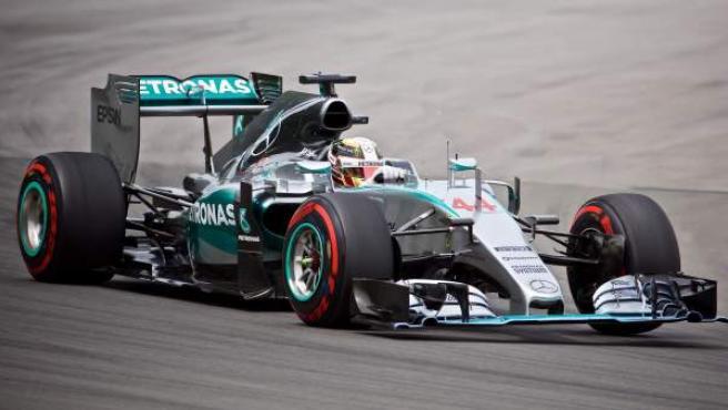 El piloto inglés de Fórmula 1 Lewis Hamilton, en el GP de Canadá.
