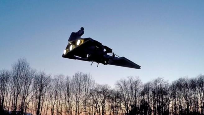 Vídeos del día: Así vuelan los 'drones' de 'Star Wars'