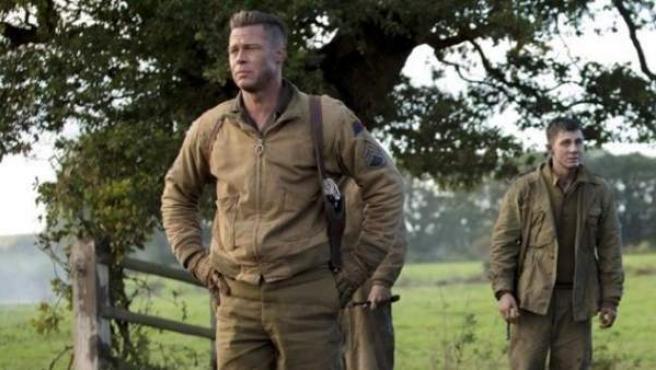 El actor estadounidense regresa a la Segunda Guerra Mundial con Fury.